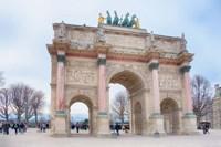 Arc Triomphe Carrousel Fine Art Print
