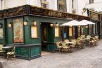 Cafe Monmartre Fine Art Print