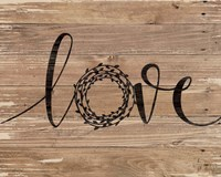 Love Wreath Fine Art Print