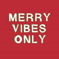 Merry Vibes Only Fine Art Print
