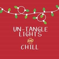 Untangle Lights and Chill Fine Art Print