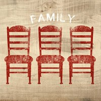 Family Chairs Fine Art Print