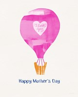 Mother's Day Balloon Fine Art Print