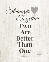 Stronger Together Fine Art Print