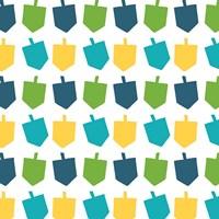 Dreidel Pattern I Fine Art Print