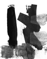 BW Brush Stroke VII Fine Art Print