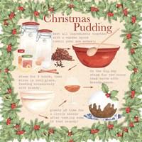 Christmas Pudding 2 Fine Art Print