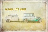Baby Let's Travel Fine Art Print