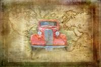 Vintage Car Fine Art Print