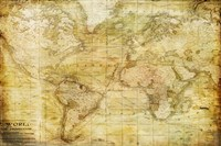 Vintage Map Fine Art Print