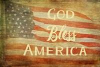 God Bless America Fine Art Print