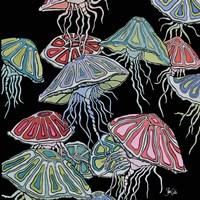 Jelly Fish II Fine Art Print