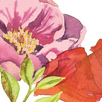 Vibrant Floral II Fine Art Print