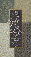 The Lord is My Light Fine Art Print