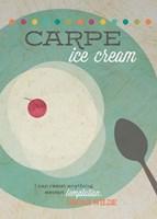 Carpe Ice Cream Fine Art Print