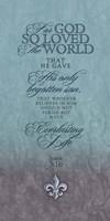 John 3:16 Fine Art Print