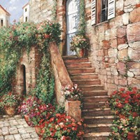 Stone Stairway Petites B Fine Art Print