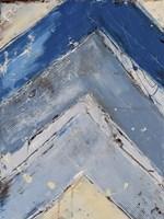 Blue Zag I Fine Art Print