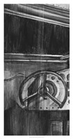 Vintage Cockpit I Fine Art Print