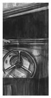 Vintage Cockpit III Fine Art Print