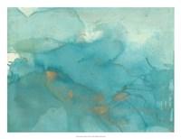 Turquoise Moment II Fine Art Print