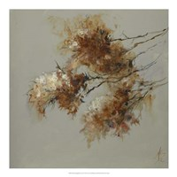 Rusty Spring Blossoms II Fine Art Print