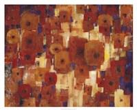 Transitional Poppies I Fine Art Print