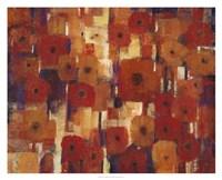 Transitional Poppies II Fine Art Print