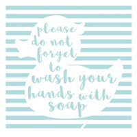 Hand Washing Fine Art Print
