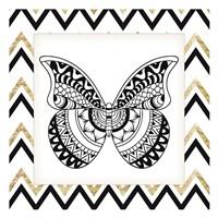 Zig Zag Butterfly 1 Fine Art Print