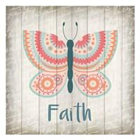 Butterfly Faith Fine Art Print