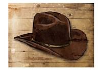 Sketched Hat Fine Art Print