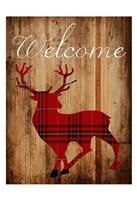 Holiday Deer Fine Art Print