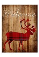 Holiday Deer 2 Fine Art Print