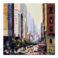 New York 4 Fine Art Print