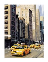 New York Taxi 1 Fine Art Print