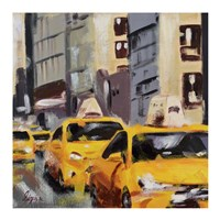 New York Taxi 6 Fine Art Print