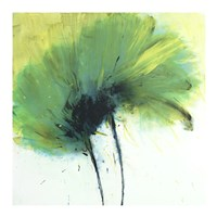 Adelene Flower Green Fine Art Print