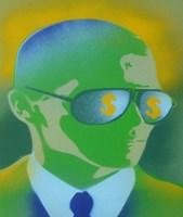 Dollar Bills Green Fine Art Print