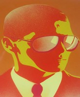 Suit and Shades Fine Art Print