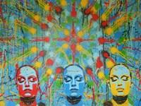Kaleidoscope Dreamers Fine Art Print