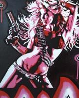 Revolver Girl 1 Fine Art Print