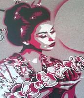 Marble Geisha Fine Art Print