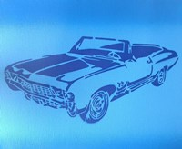 Muscle Car 1 Fine Art Print