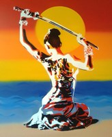 Samurai 2 Fine Art Print