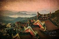 Vintage Jiufen, Taiwan, Asia Fine Art Print