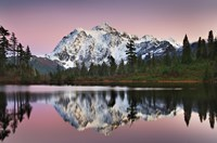 Mount Shukan Reflection II Fine Art Print