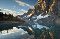 Floe Lake Reflection III Fine Art Print