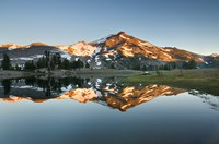 South Sister Reflection II Fine Art Print