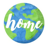 Earth Is Our Home Fine Art Print